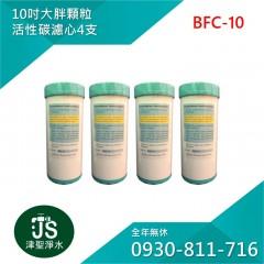 台灣製 10吋大胖顆粒活性碳濾心 4支