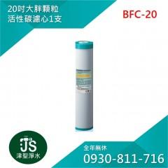 台灣製 20吋大胖顆粒活性碳濾心 1支
