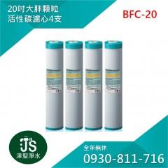 台灣製 20吋大胖顆粒活性碳濾心 4支