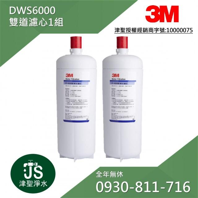 3M DWS6000雙道替換濾心